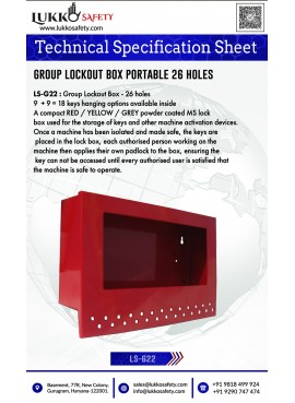 Lockout Tagout Hasp Kit -...